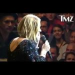 Adele Dedicates Her Performance To Brad & Angelina